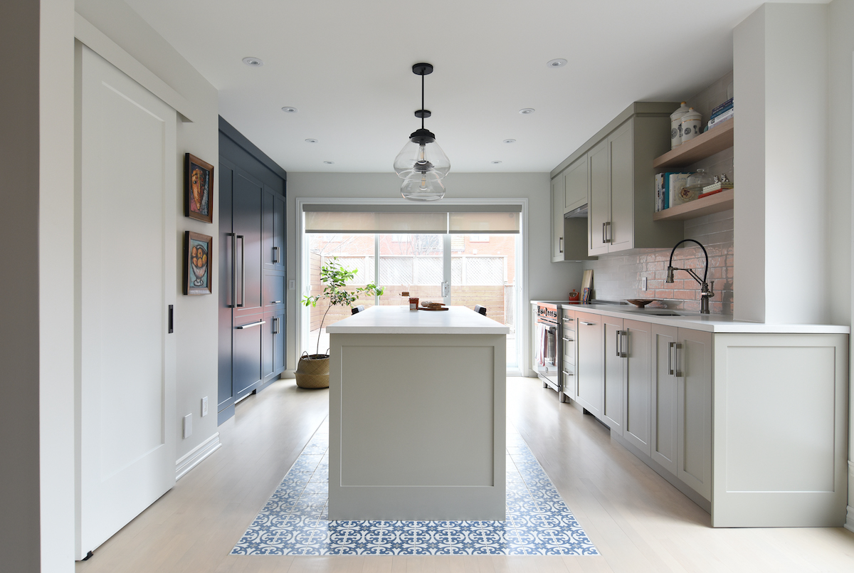 montreal-ca-greige-and-blue-kitchen-wood-floors-and-pattern-tile-3