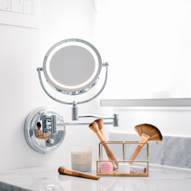 hb-design-inc-bathroom-vanity-mirror-makeup-brushes-accessories
