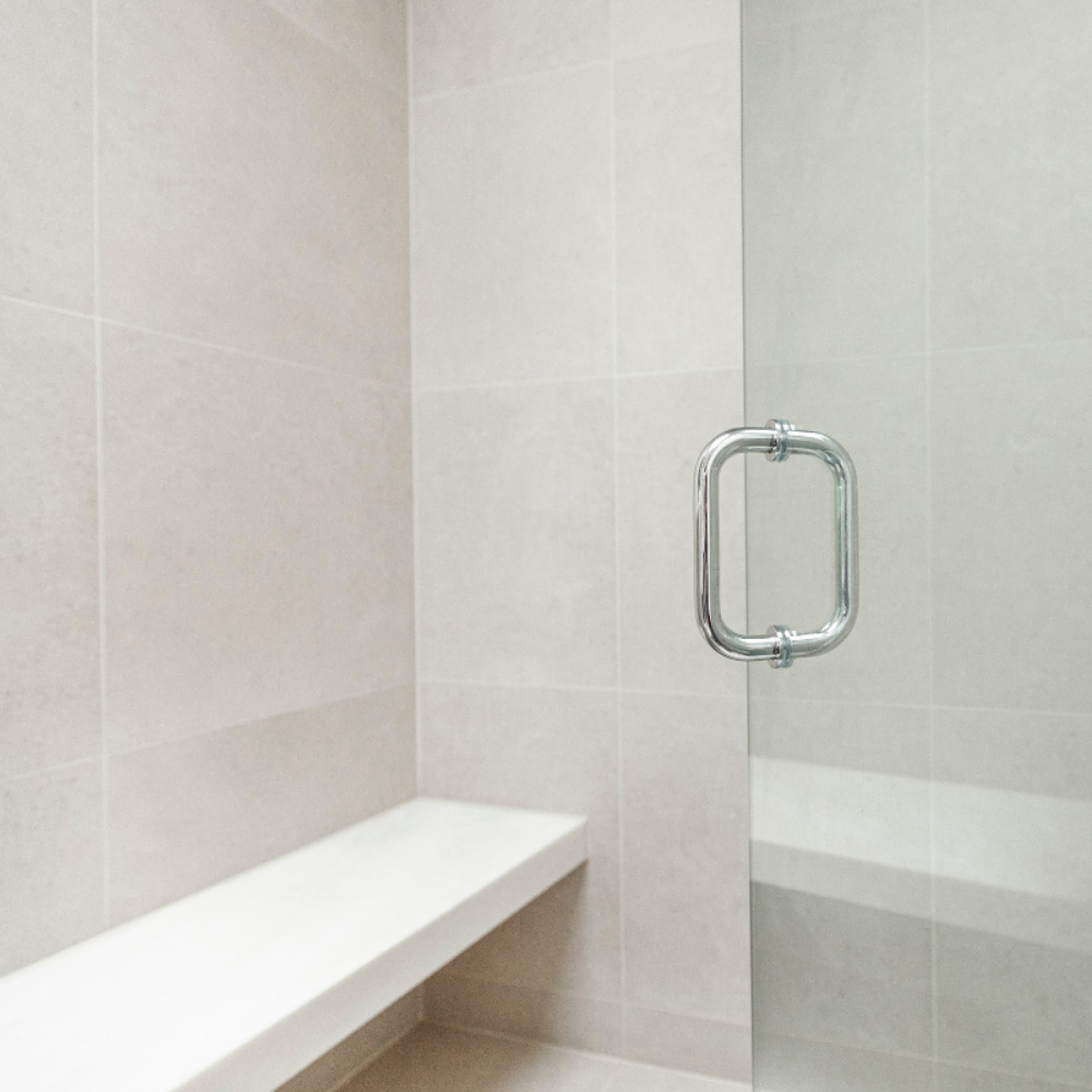 bathroom-shower-glass-wall-stainless-hardware-bench